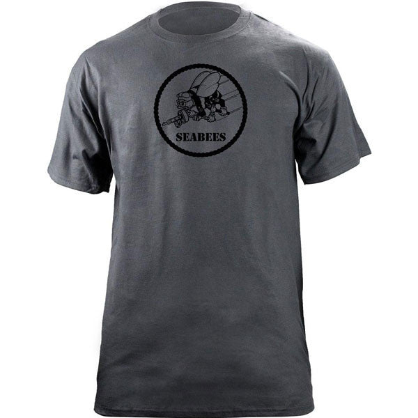 Seabees Subdued Patch T-Shirt