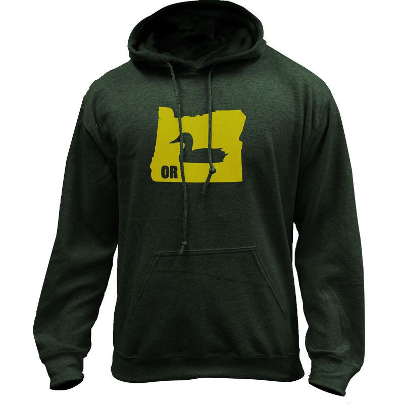 Original I Duck Oregon Classic University Pullover Hoodie Sweatshirt