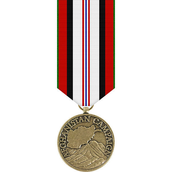 Afghanistan Campaign Miniature Medal