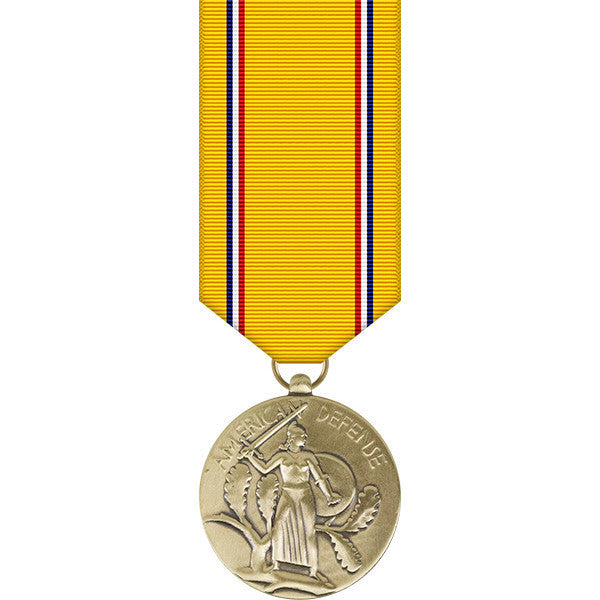 American Defense Miniature Medal - WWII
