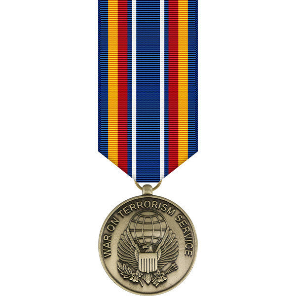 Global War on Terrorism Service Miniature Medal