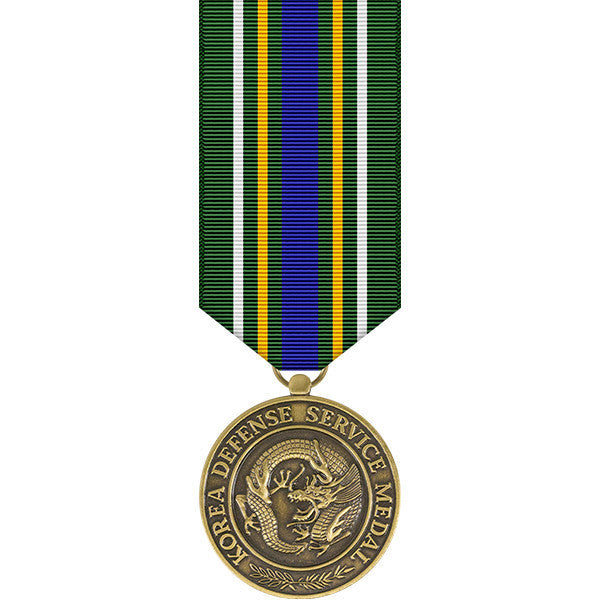 Korea Defense Service Miniature Medal