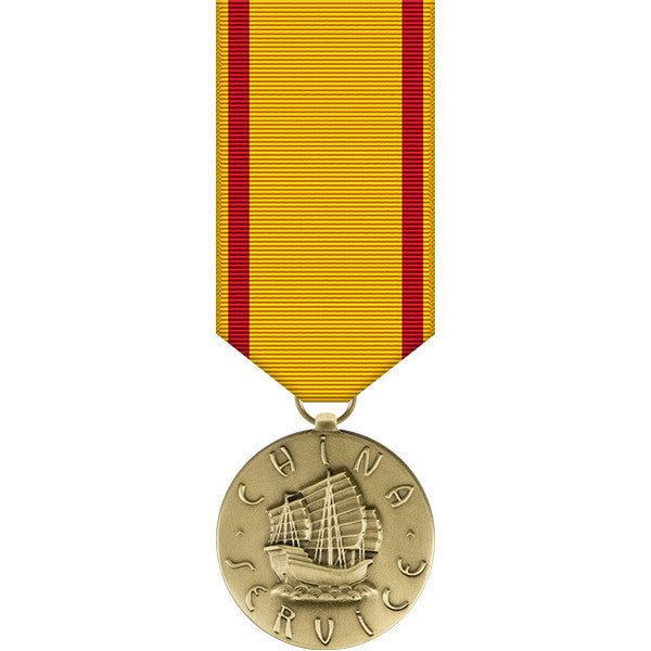 Marine Corps China Service Miniature Medal