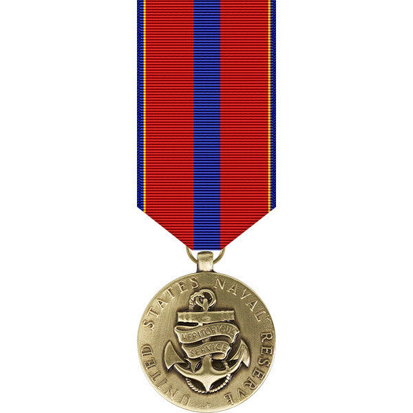 Naval Reserve Meritorious Service Miniature Medal