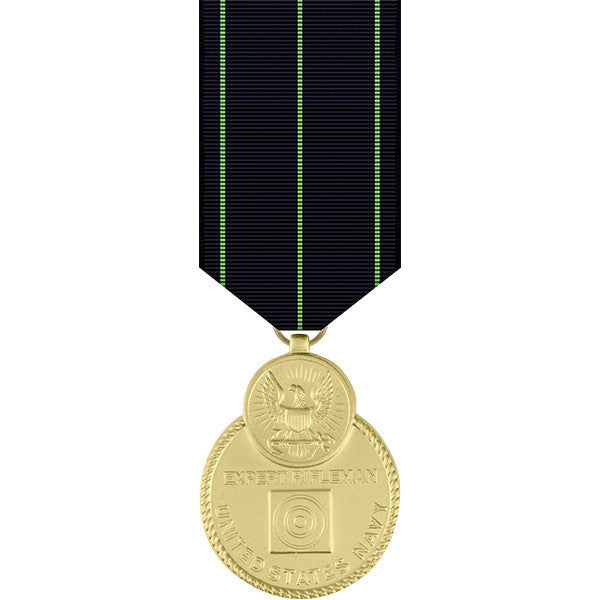 Navy Expert Rifle Miniature Medal