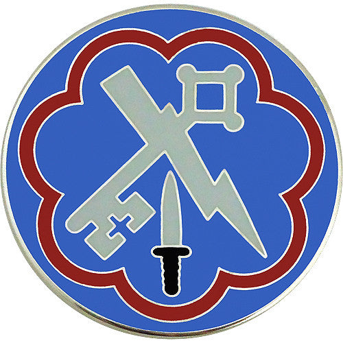 207th Military Intelligence Brigade Combat Service Identification Badge