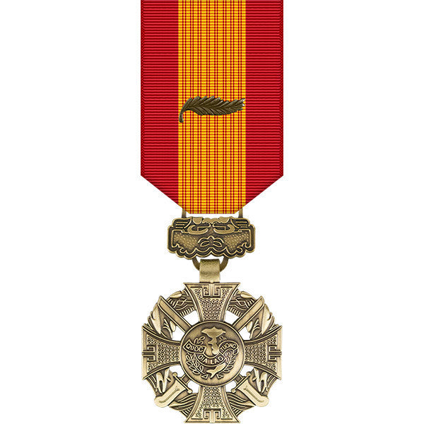 Republic of Vietnam Gallantry Cross w/ Palm Miniature Medal