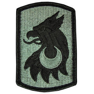 209th Field Artillery Brigade ACU Patch