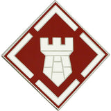 20th Engineer Brigade Combat Service Identification Badge