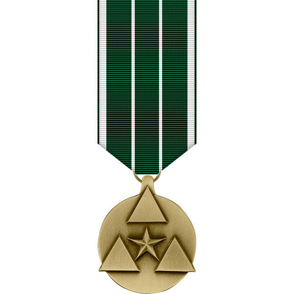 Army Commanders Award for Civilian Service Miniature Medal