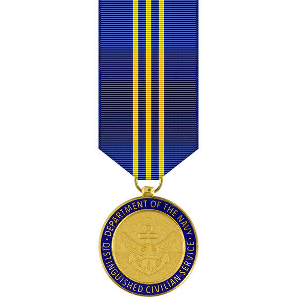 Navy Distinguished Civilian Service Award Miniature Medal