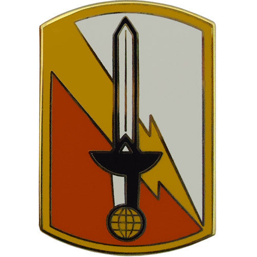 21st Signal Brigade Combat Service Identification Badge