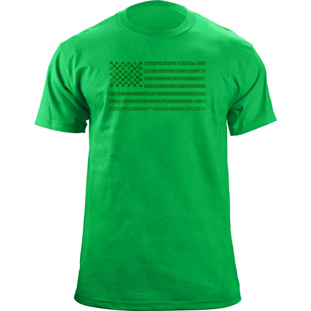 Original St. Patrick's Day Shamrock Flag T-Shirt