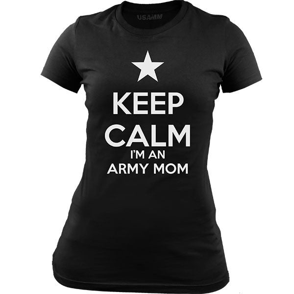 Classic Keep Calm I'm an Army Mom T-Shirt