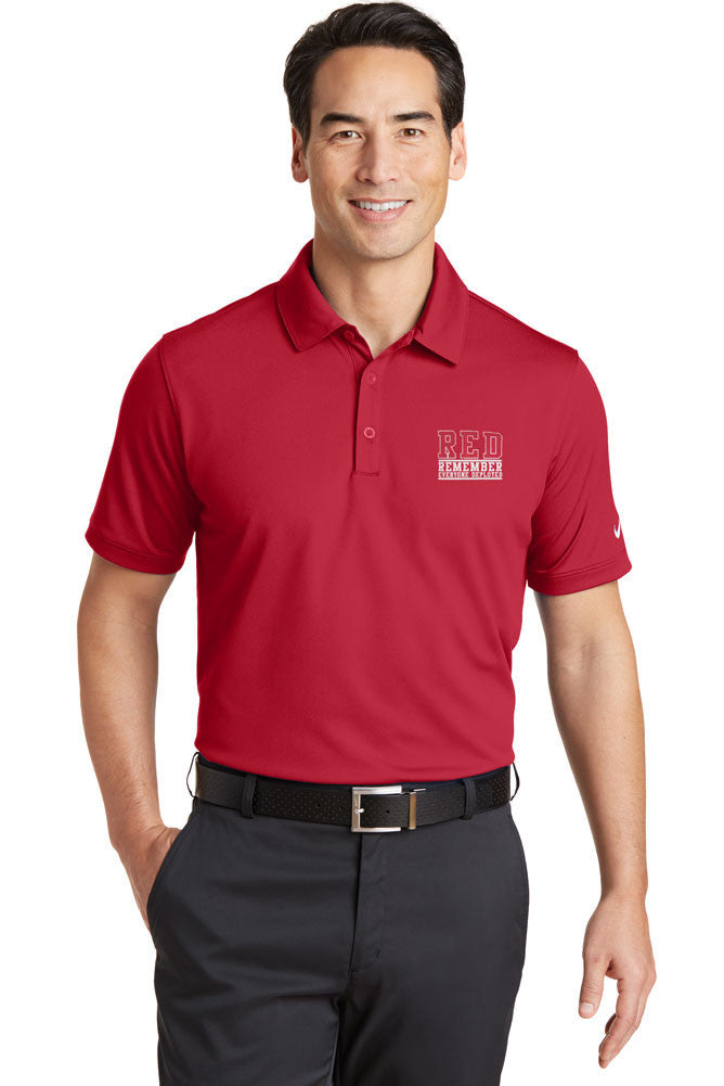 RED Friday Embroidered Nike Dri-FIT Polo Shirt