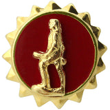 Active Duty Army Minute Man Lapel Pin