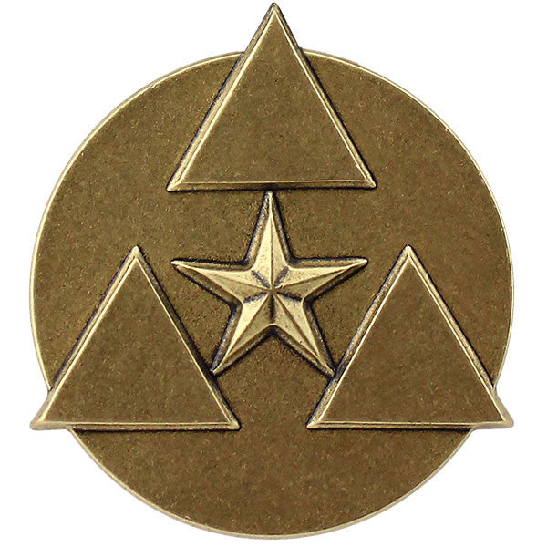 Army Commanders Award for Civilian Service Medal Lapel Pin