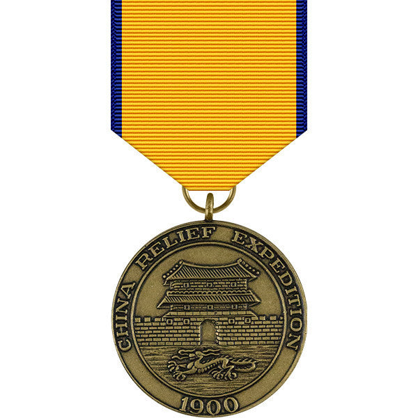 China Relief Expedition Medal - Navy