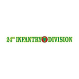 24th Infantry Division Clear Window Strip