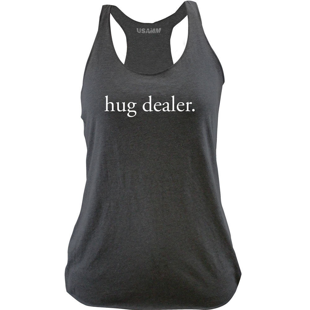 Women's Hug Dealer Racerback Tank Top