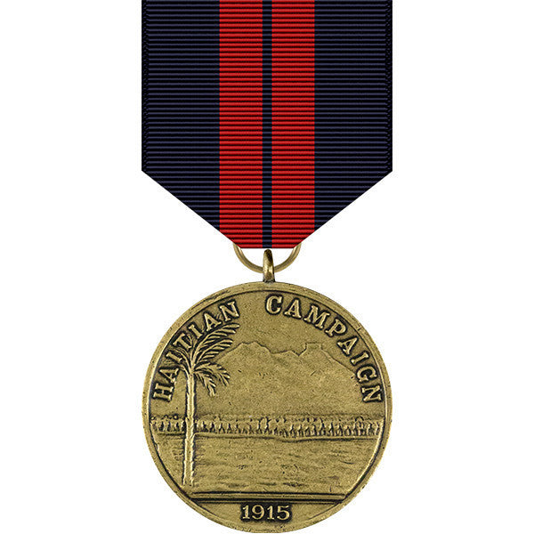 First Haitian Campaign Medal - Navy