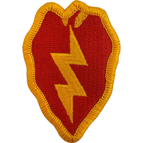 25th Infantry Division Class A Patch