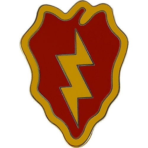 25th Infantry Division Combat Service Identification Badge
