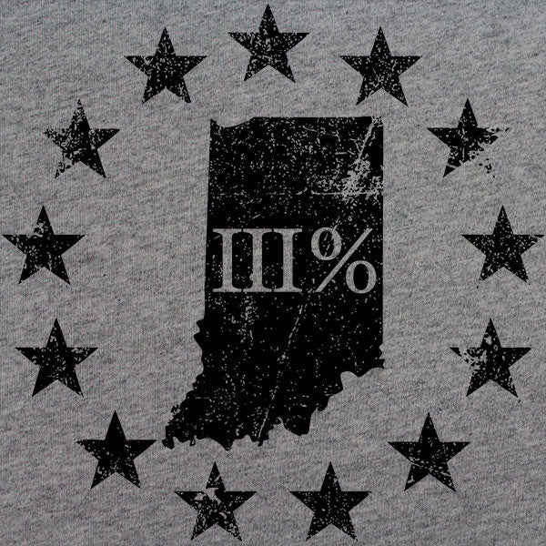 Vintage Indiana State III Percenter T-Shirt