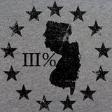 Vintage New Jersey State III Percenter T-Shirt