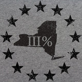 Vintage New York State III Percenter T-Shirt