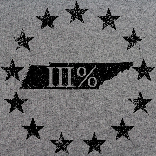 Vintage Tennessee State III Percenter T-Shirt