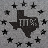 Vintage Texas State III Percenter T-Shirt