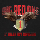 1st Infantry Division Big Red One Graphic T-shirt
