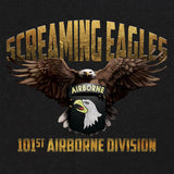 101st Airborne Screaming Eagles Graphic T-shirt