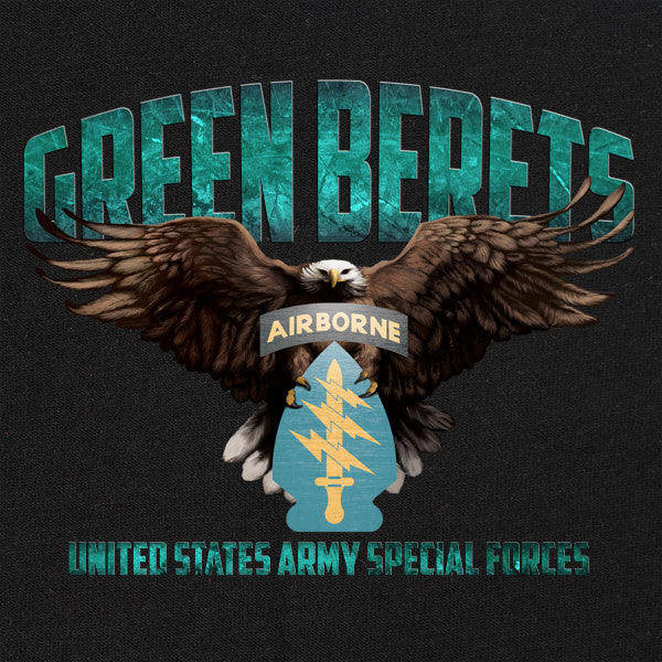 Special Forces Green Beret Graphic T-shirt