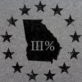 Vintage Georgia State III Percenter T-Shirt