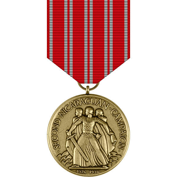 Second Nicaraguan Campaign Medal - Navy