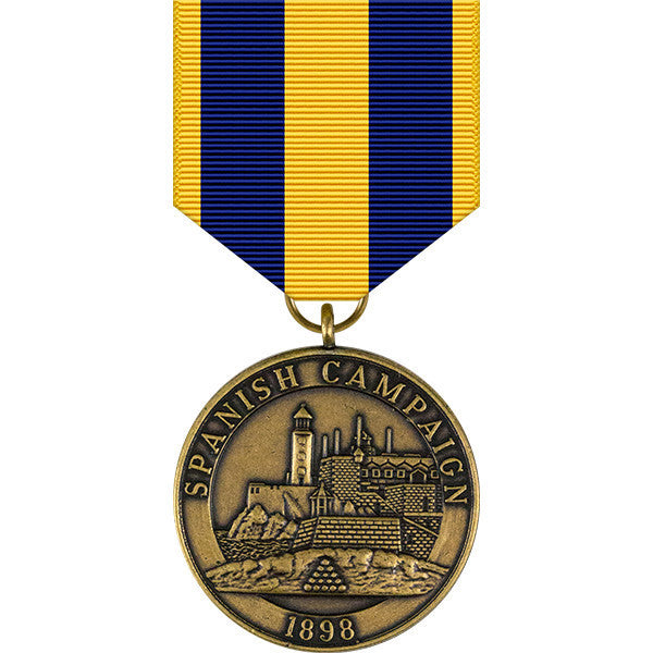 Spanish Campaign Medal - Navy