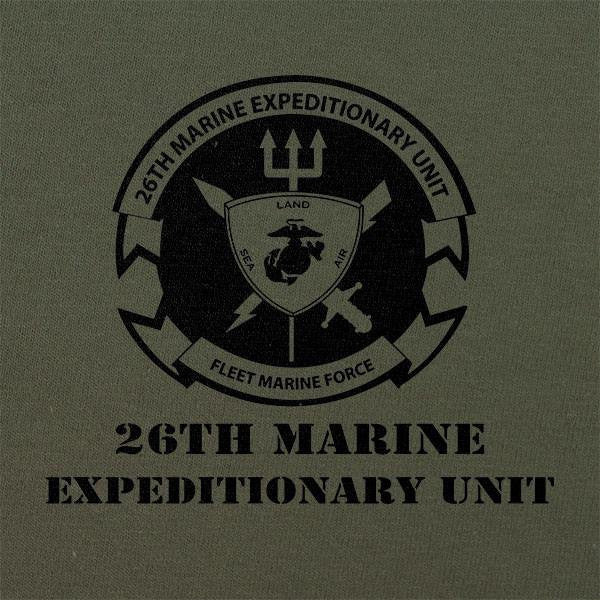 Subdued Marine Corps Unit T-Shirt 26th Marine Expeditionary Unit