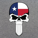 Texas State Flag Skull T-Shirt