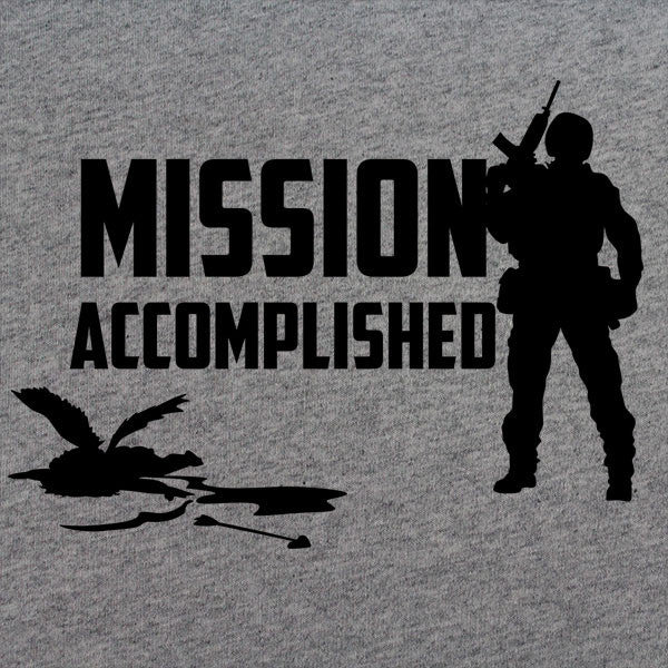 Mission Accomplished Cupid is Down Valentines Day T-shirt