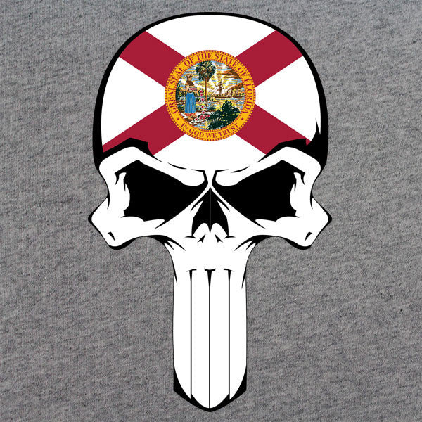 Florida State Flag Skull T-Shirt
