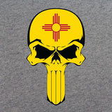 New Mexico State Flag Skull T-Shirt