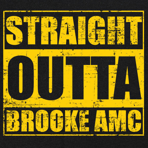 Original Straight Outta Brooke AMC T-Shirt