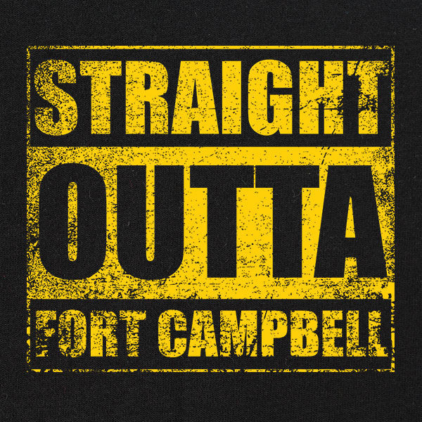 Original Straight Outta Fort Campbell T-Shirt