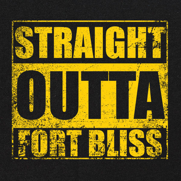 Original Straight Outta Fort Bliss T-Shirt
