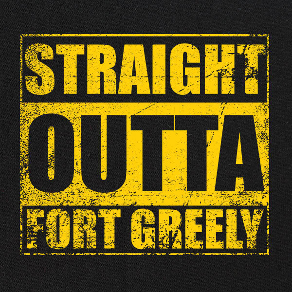 Original Straight Outta Fort Greely T-Shirt