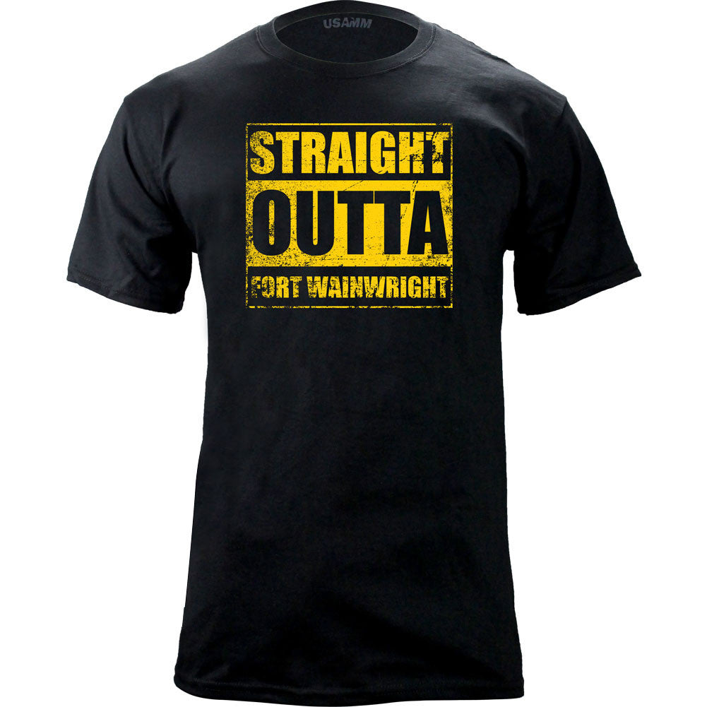 Original Straight Outta Fort Wainwright T-Shirt