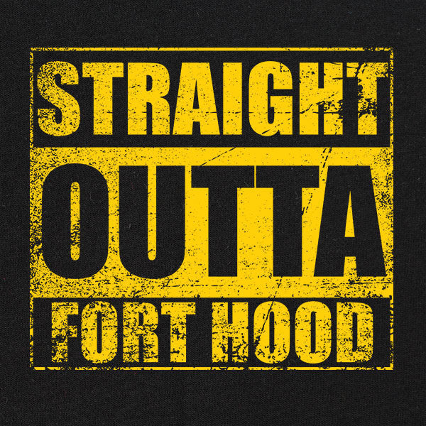 Original Straight Outta Fort Hood T-Shirt