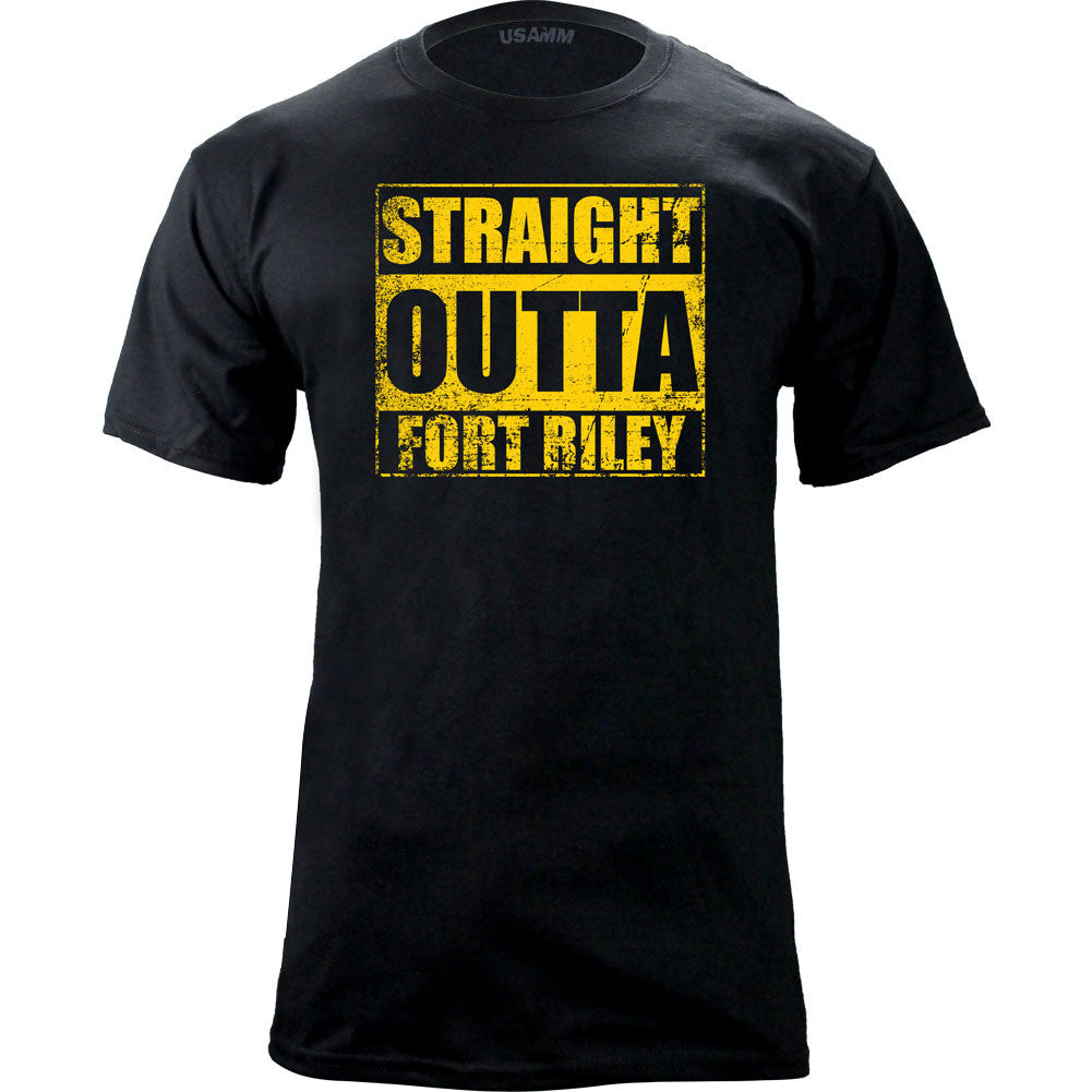 Original Straight Outta Fort Riley T-Shirt